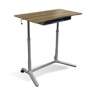 Jesper® Sit Stand Lift WorkTable in Walnut