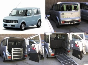 Nissan Cube wheelchair accessible vehicle