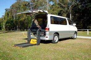 Toyota Regius wheelchair accessible car