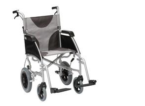 Drive Medical Aluminium Folding Manual Wheelchair- Attendant Propelled