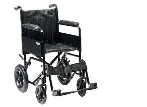 Drive Medical S1 Steel Attendant Propelled Wheelchair