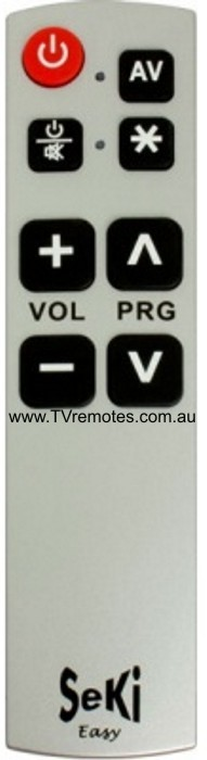 LP Easy Learning TV Remote