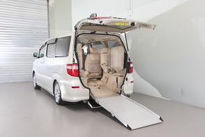 Toyota Alphard Wheelchair Accessible