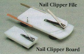PR02209 North Coast Nail Clipper Board And File