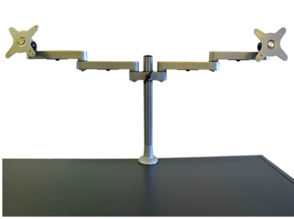 Ergoview Desk Mounted Dual Monitor Arm