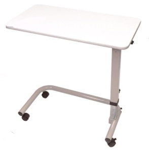 Aspire Overbed Table - Laminate - White
