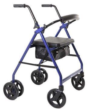 Aspire Push Down Seat Walker / Rollator