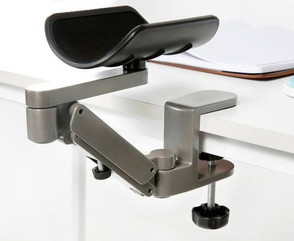 forearm support on table