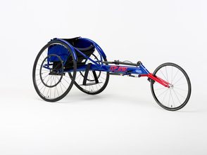 Invacare Top End Eliminator OSR Racing Wheelchair - shown with Open V Cage design