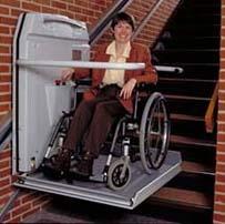 Cama Handi-Lift Wheelchair Stairlift