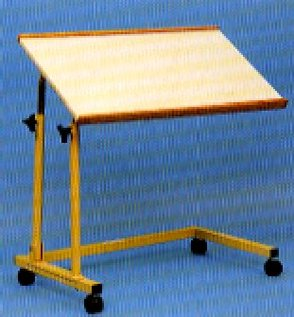 Auscare Tilting Over Bed And Chair Table AC20