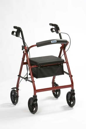 Drive Medical Lightweight Aluminium Rollator (unfolded)