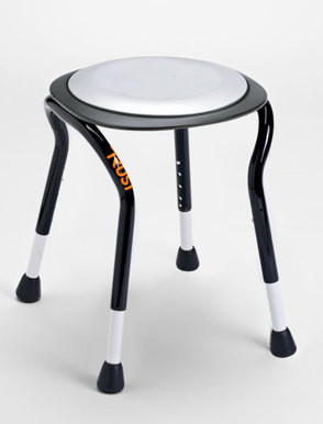 TrustCare Let's Frisbee Compact Shower Stool