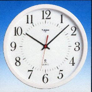 24 hour analogue clock