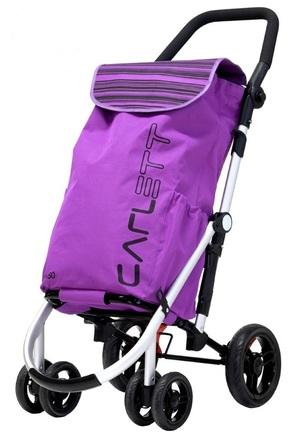 Carlett Lett460 Shopping Trolley - Blueberry colour