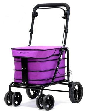 Carlett Lett700 Folding Shopping Trolley - Blueberry colour