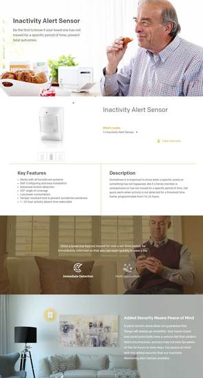 Home8Care Inactivity Alert Sensor