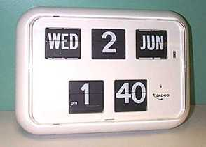 Jadco Mains Power Calendar Clock MQ17