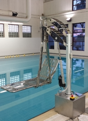 Aero Safety Equipment Electric Pool Hoist
