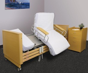 Avalon Rotating Bed - in rotated seat position