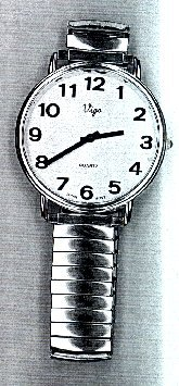 Vigo Large Print Wrist Watch