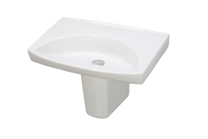 Mental Health Kit With 600mm Sign Basin, Shroud, Waste And Bottle Trap