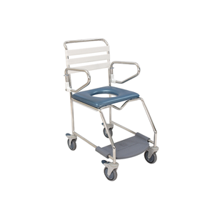 K Care Shower Commode with Weightbearing Footrest