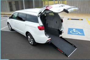 YP Kia Carnival Wheelchair accessible vehicle