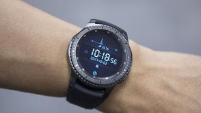 Samsung Gear Watch on Wrist