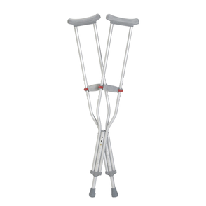 Underarm Crutches - Red Dot
