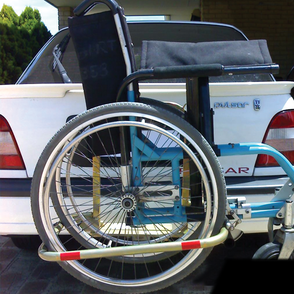 Birt loaded with self propelled wheelchair