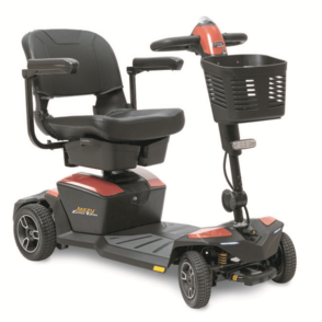Pride Zero Turn 8 Mobility Scooter (Fire Opal colour)