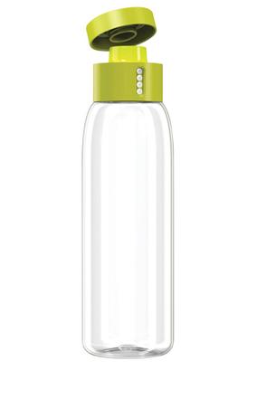Dot water bottle with lid open