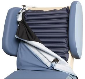 Air Chair Active - cover turned back to show active aircell system