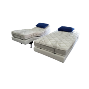Electric Adjustable Bed with Memory Foam Mattress