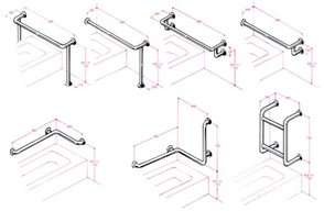 K-Care Bath Rails