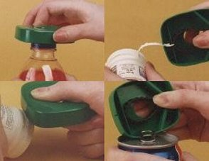 Demit Designs Capgrippa Bottle Cap Enlarger / Opener