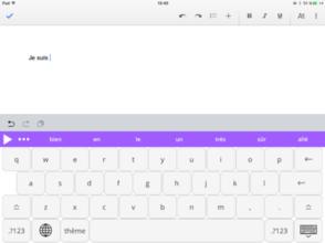 Text Help iPad - Word Prediction Typing keyboard