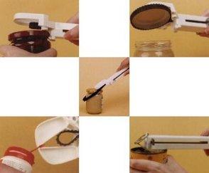 Demit Designs Capgrippa Multi Purpose Jar/Bottle/Ring Pull Tin Opener