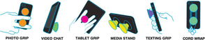 Various grips/positions
