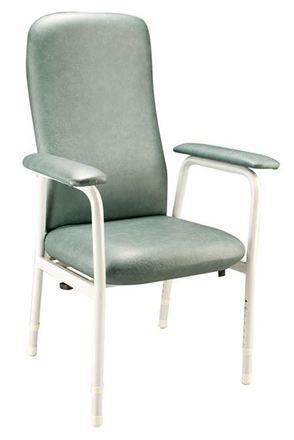 Euro Chair Highback - slate upholstery
