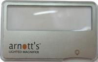Arnott`s Card Magnifer with Light