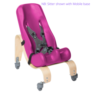 Sitter with Mobile base