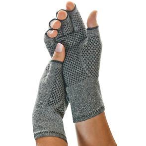 Active Gloves being worn
