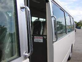 PR13877 Tieman Bus Modification Extra Steps and Rails