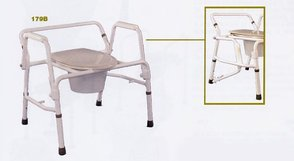 PR15815 Ansa Extra Care 3 In 1 Over Toilet Frame