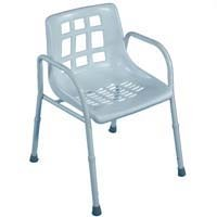 Auscare Extra Wide Steel Shower Chair