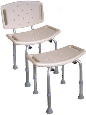 PR06421 Graham Rubber Shower/Bath Seat and Stool