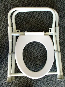 PR15645 Relpar Folding Over Toilet Frame