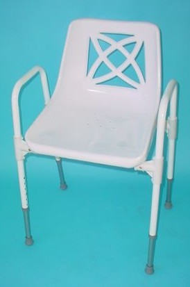 PR06576 Patient Care Products Shower Chair With U-Frame